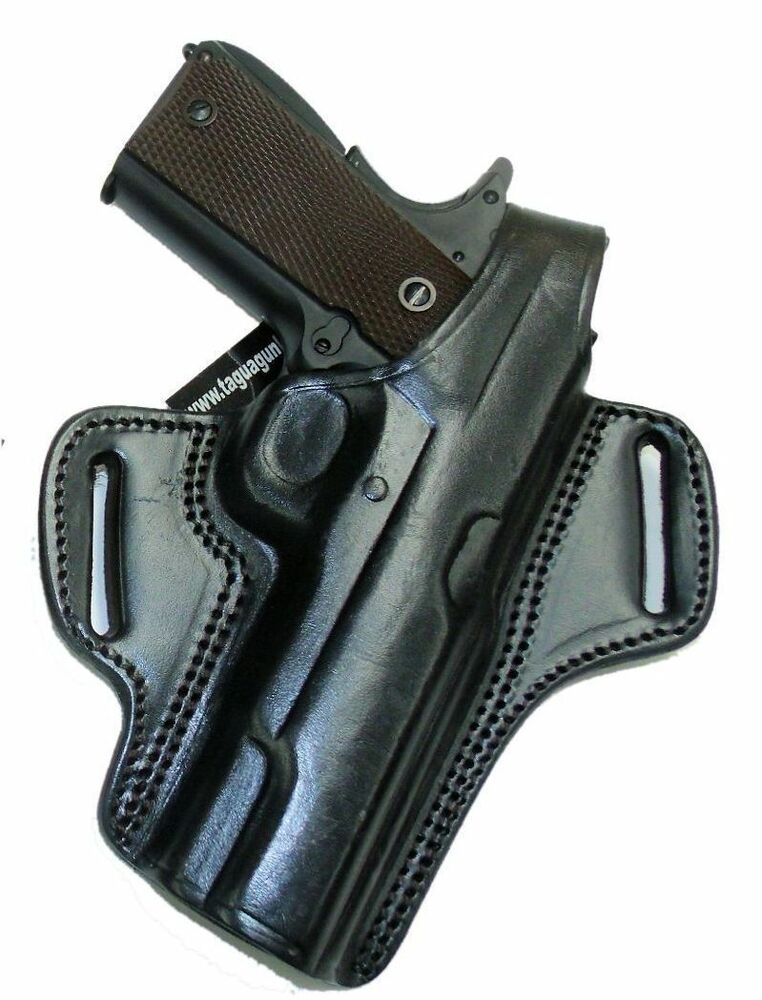 "Ruger SR1911 5"" Barrel 1911 Holster Black Leather Right ..."
