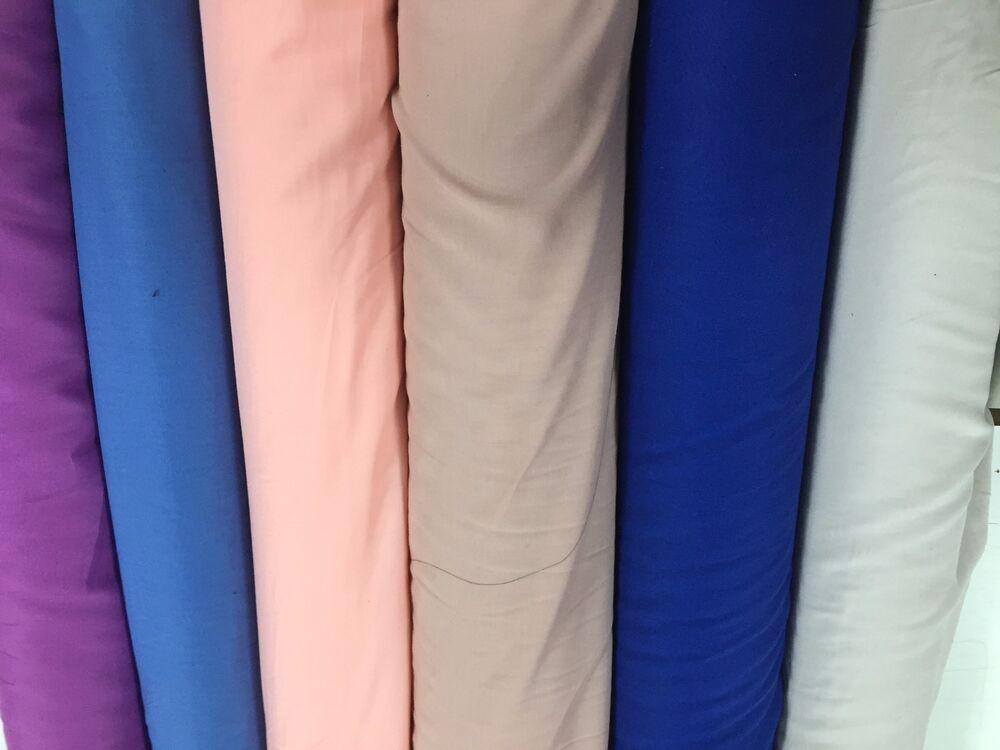 100 Cotton Fabric Rayon Dress Soft Clothing Material