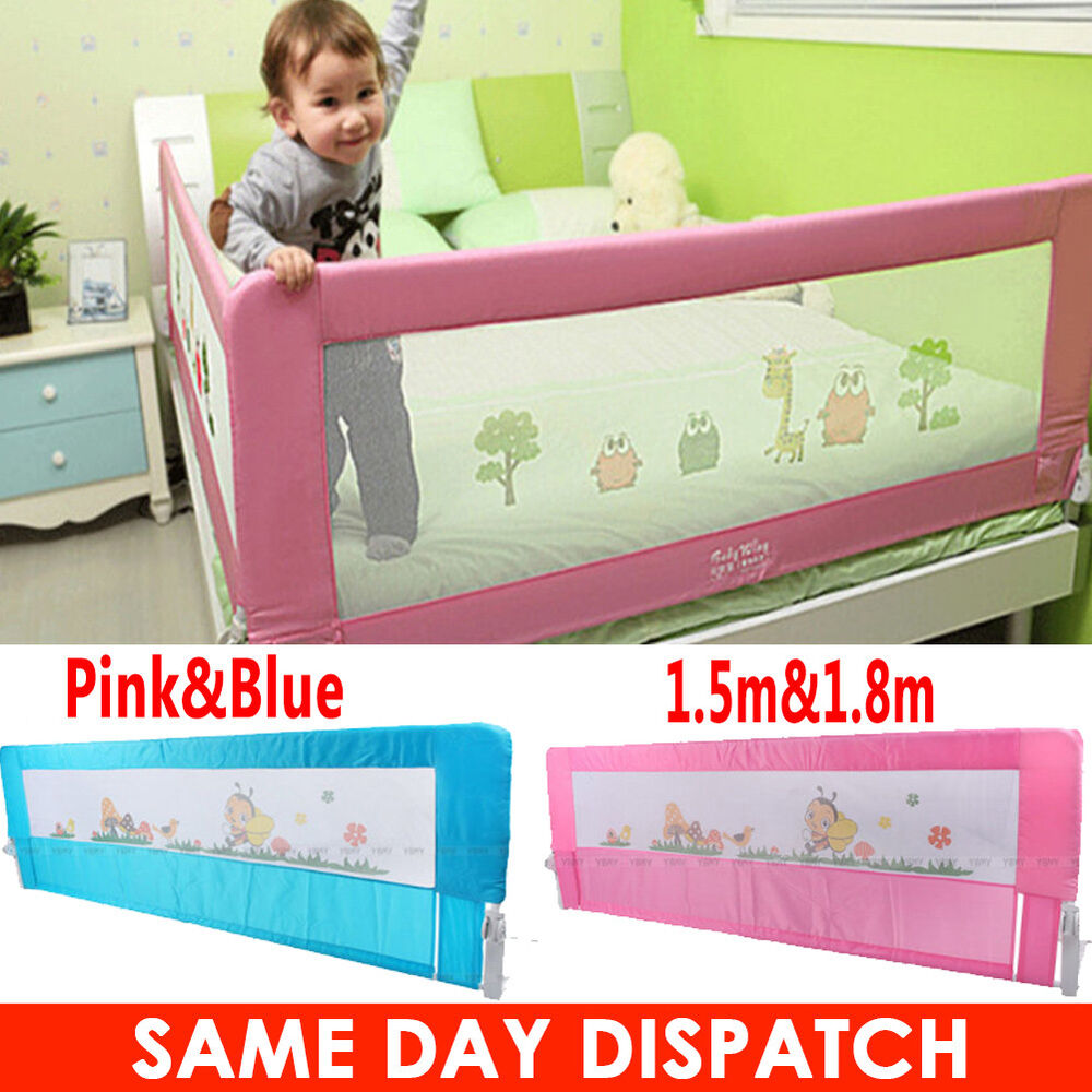 DIY Child Toddler Bed Rail Safety Protection Guard Folding ...