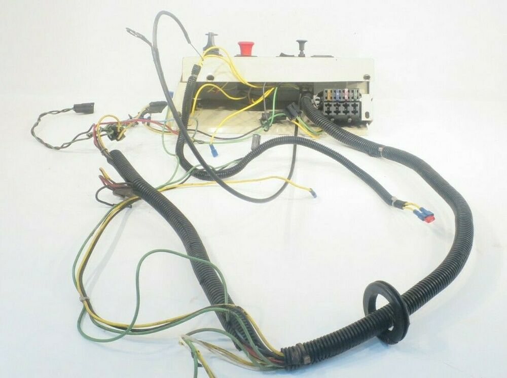 Oem Grasshopper Operators Console And Wiring Harness Fits