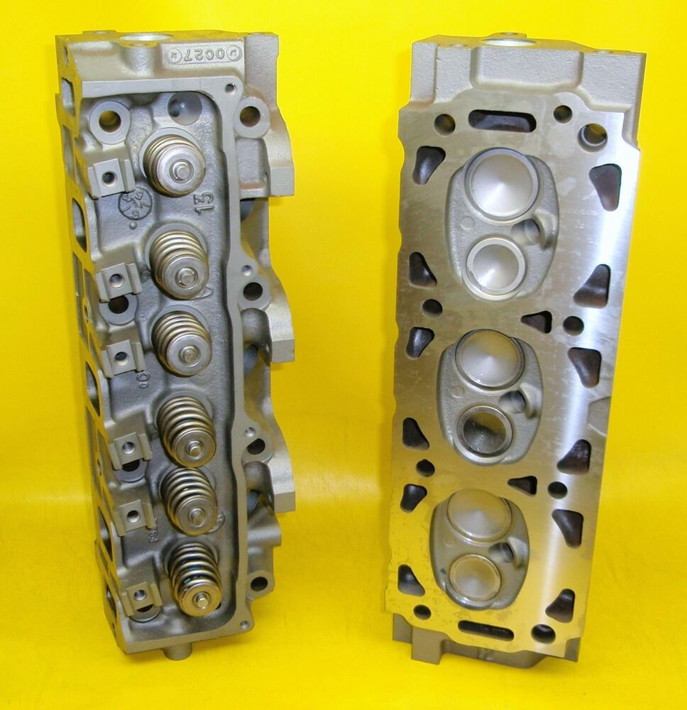 pair 3 0 ford v 6 cylinder heads ranger taurus vans 2000. Black Bedroom Furniture Sets. Home Design Ideas