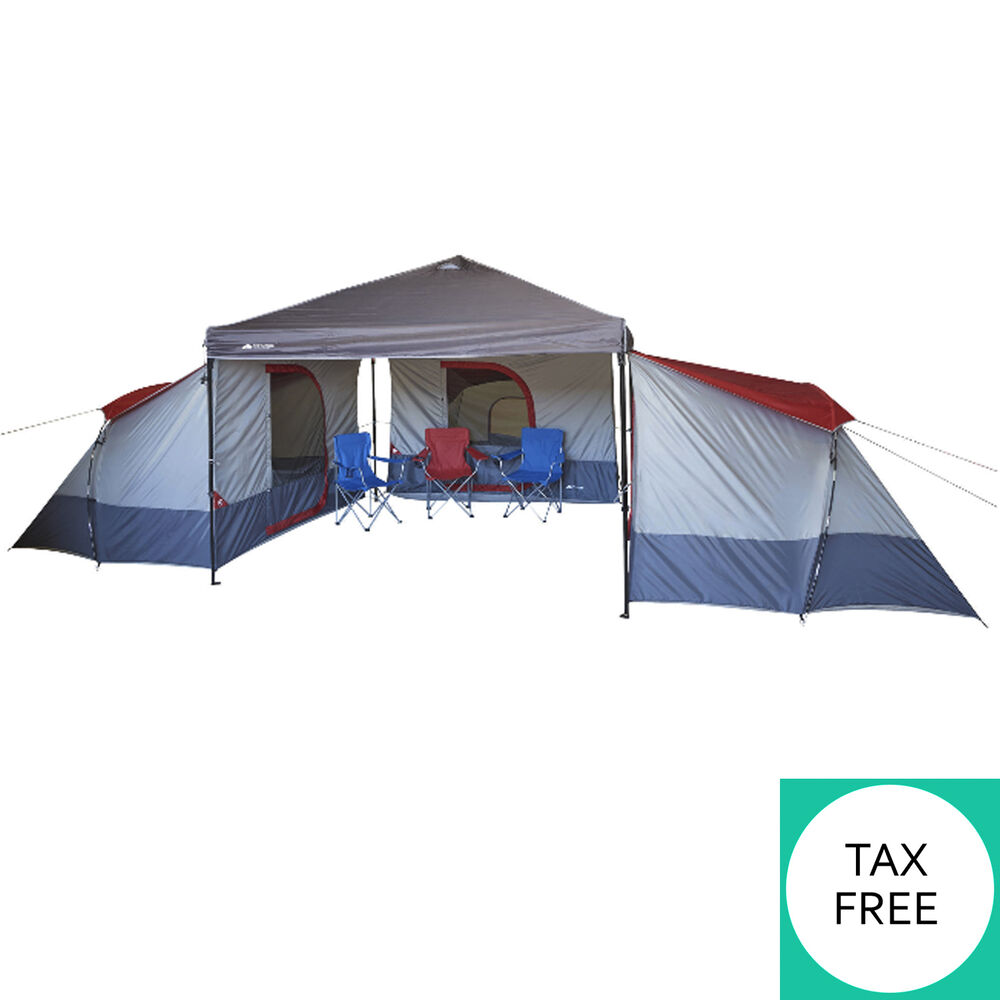 Outdoor Family Camping Tent 4 Person Large Canopy