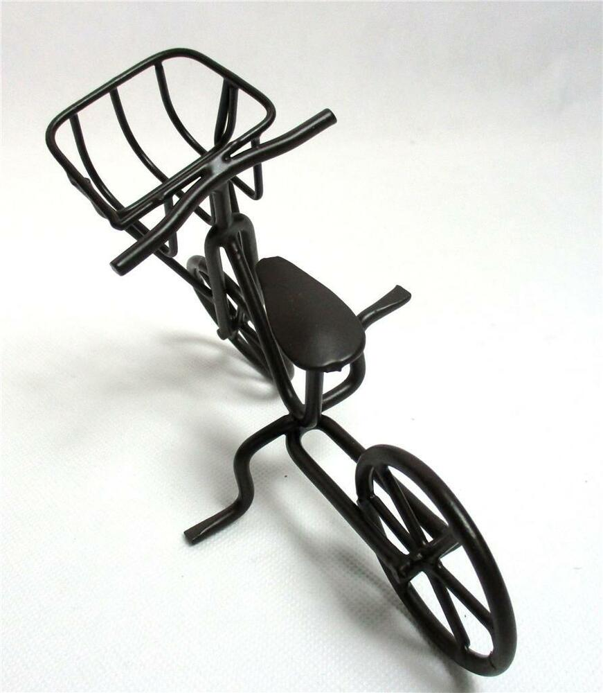 Bicycle Home Decor: Bike Bicycle Home Table Decor Toy Metal Sculpture Desktop