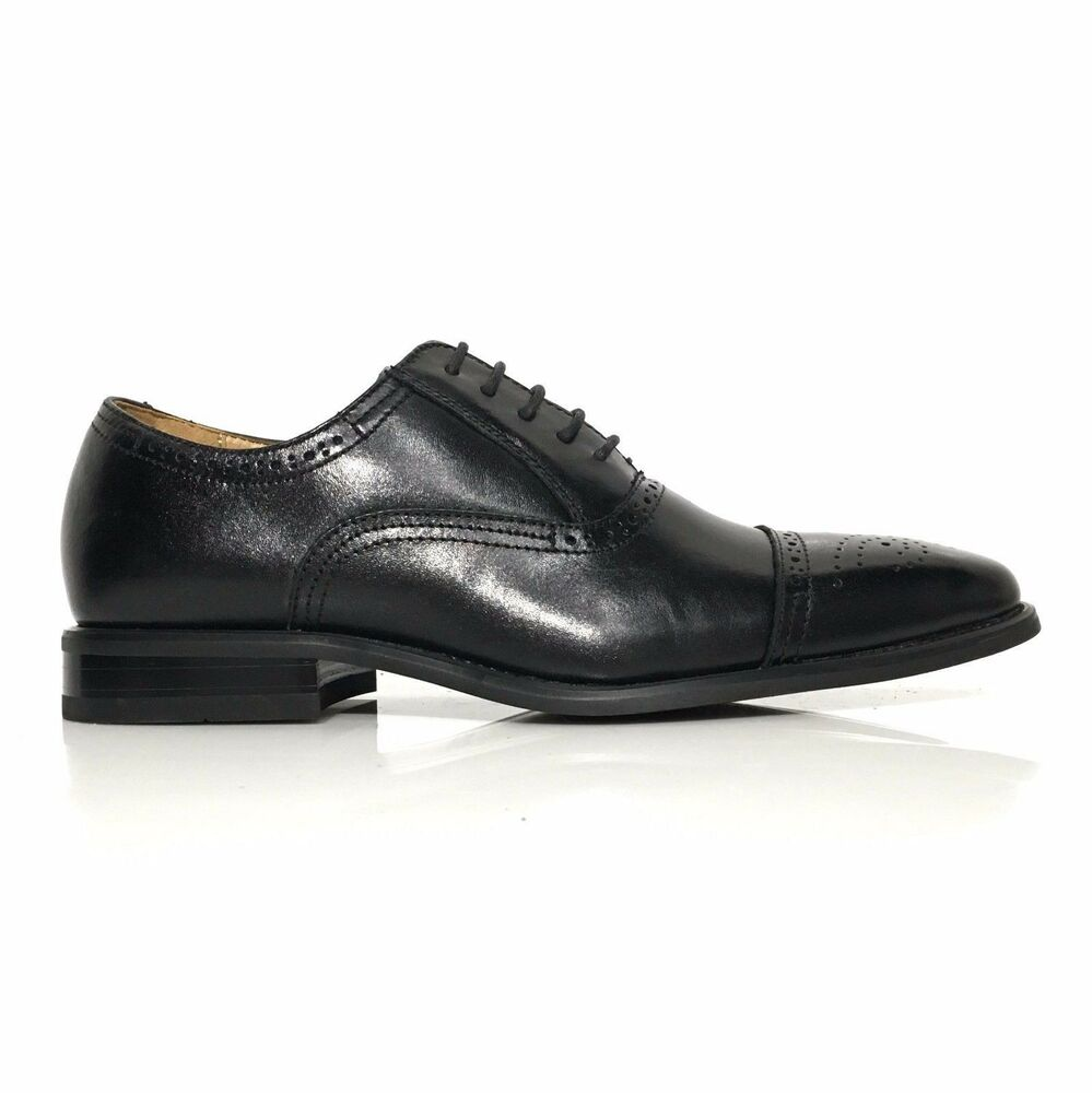 Black Dress Oxford Shoes
