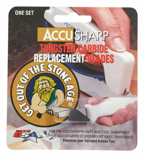 Accusharp Replacement Blades Blister Pack