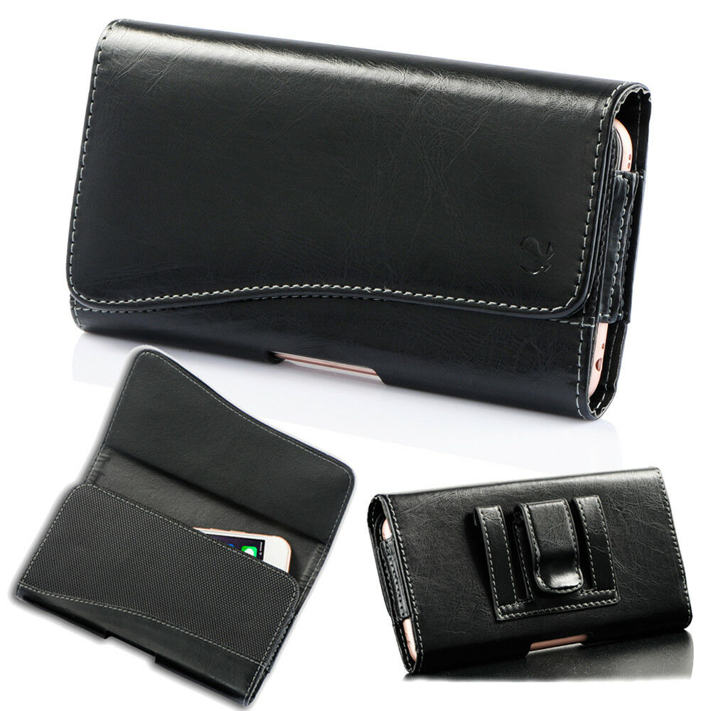 Horizontal Leather Holster Belt Clip Carry Case Pouch For Samsung S8 S8 Plus New Ebay