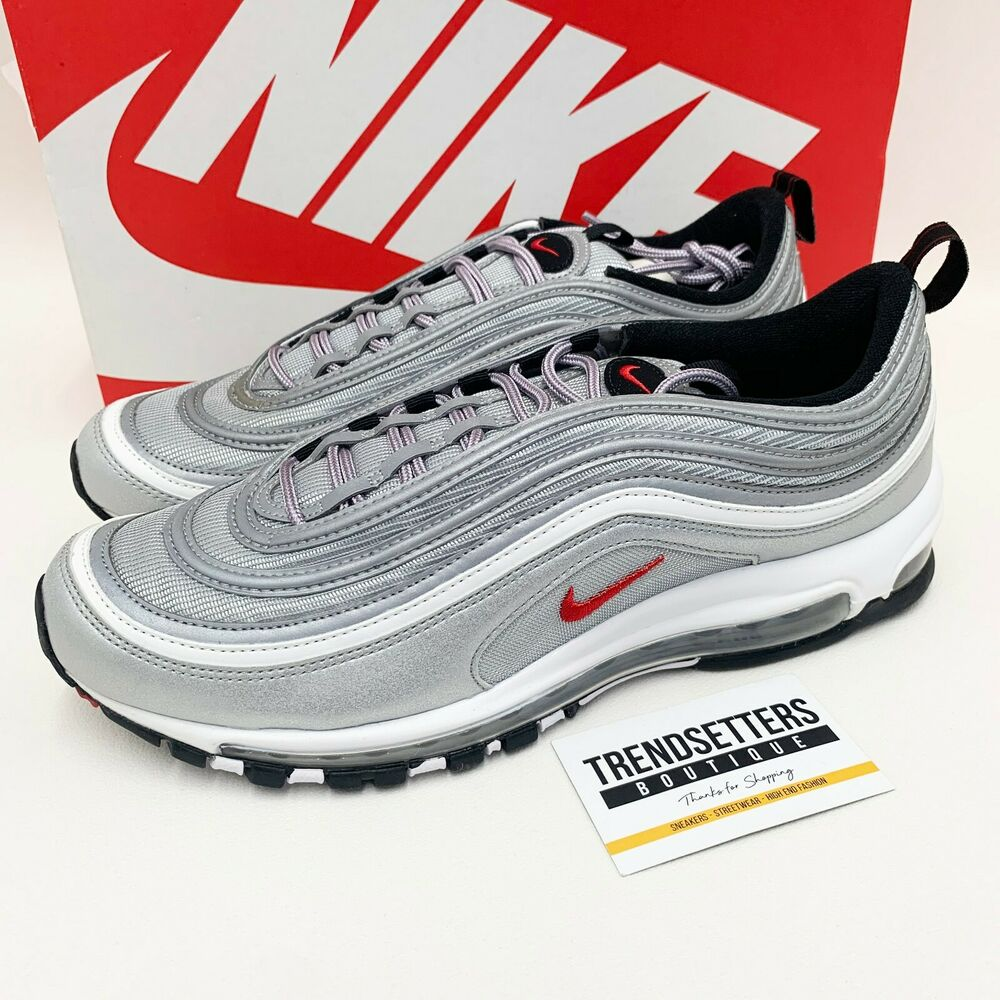 nike air max 97 og silver bullet us uk 8 8 5 9 9 5 10 11. Black Bedroom Furniture Sets. Home Design Ideas
