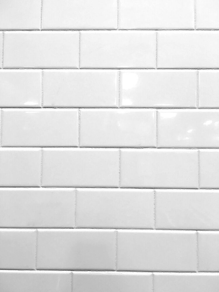 White 3x6 Shiny Glossy Finish Ceramic Subway Tile