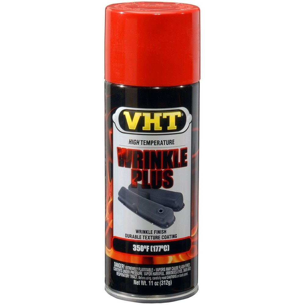 Duplicolor Vht Sp204 Red Wrinkle Plus Spray Paint Aerosol