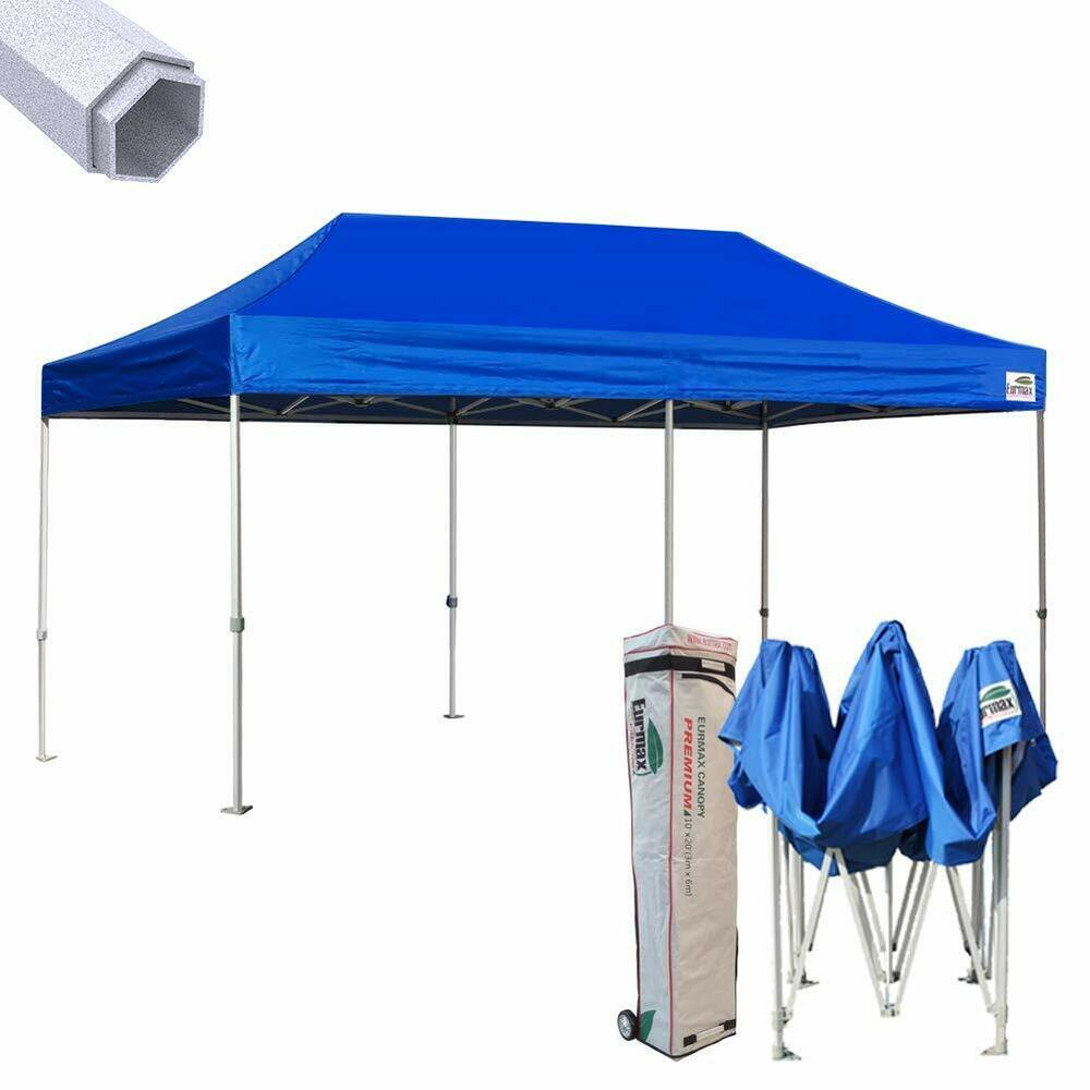 Heavy Duty Ez Pop Up Canopy 10x20 Commercial Party Beach