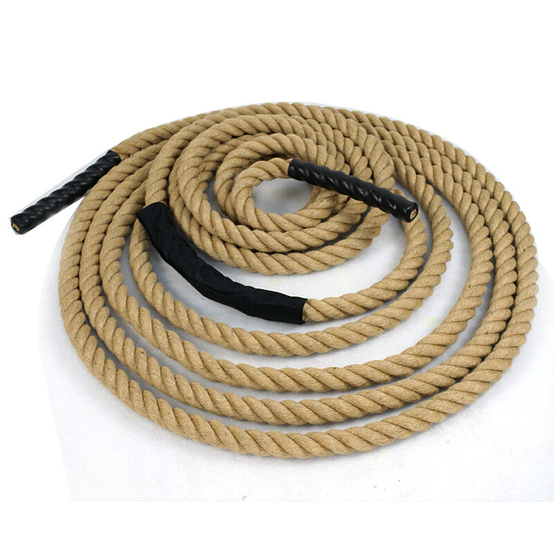 Fitness climbing manila rope boat twisted heavy duty for Heavy rope for nautical use