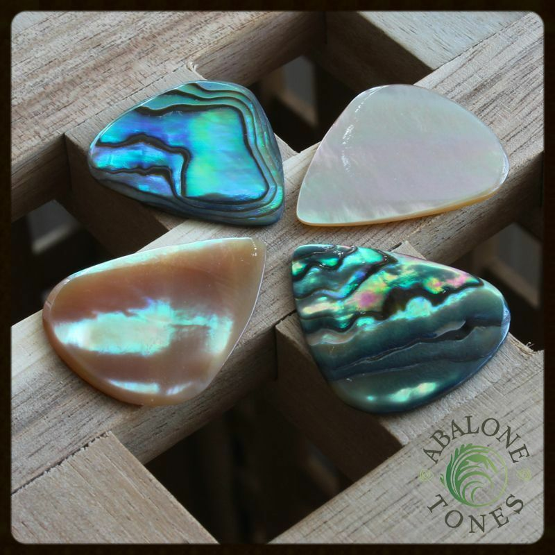 timber tones abalone tones guitar pick plectrum choice of 4 different types ebay. Black Bedroom Furniture Sets. Home Design Ideas