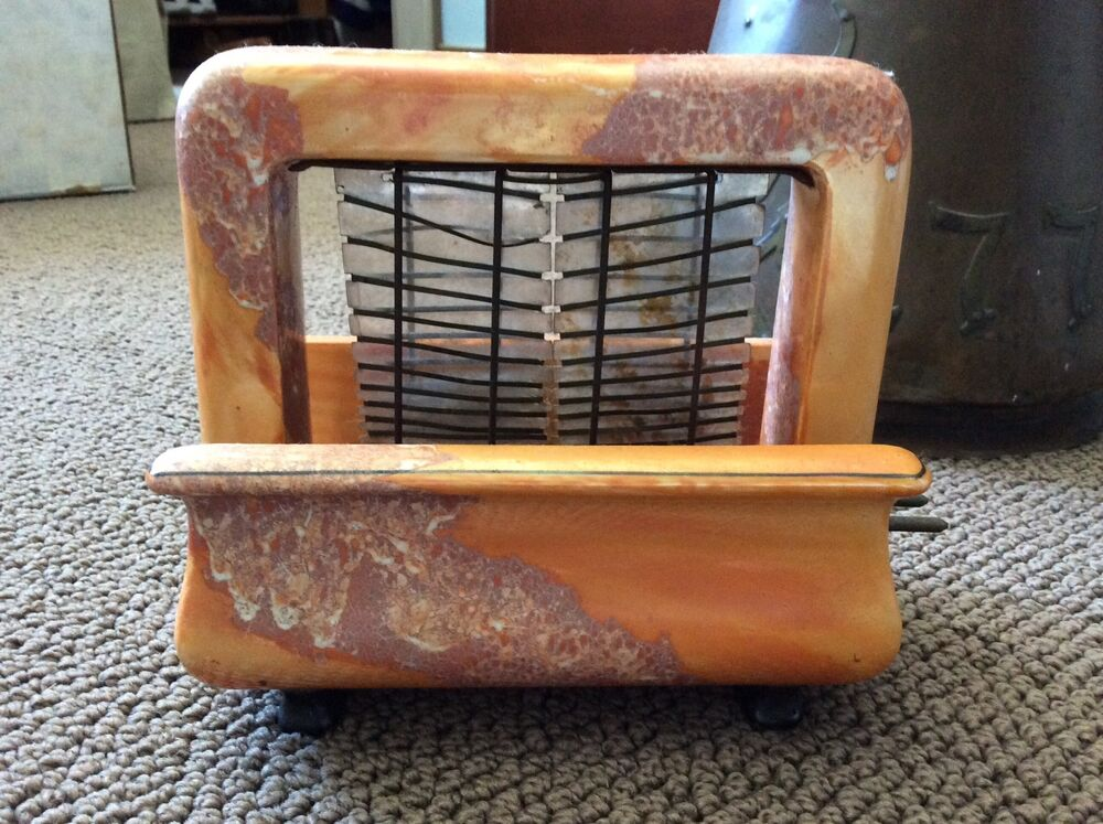 1920 Electric Toaster ~ Vintage pan electric onyxide toastrite toaster s