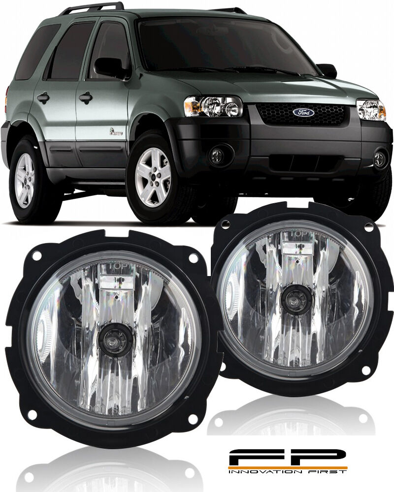 2007 2012 ford escape fog lights clear lamp bulbs wiring. Black Bedroom Furniture Sets. Home Design Ideas