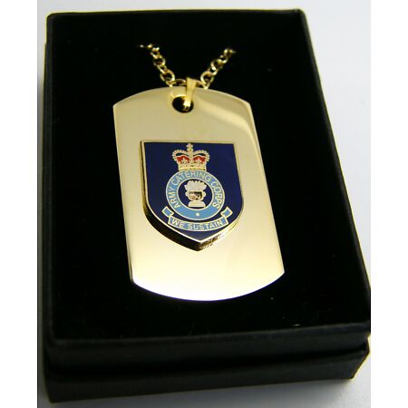 img-THE ARMY CATERING CORPS BADGE DOG TAG PENDANT MILITARY GIFT IN BOX