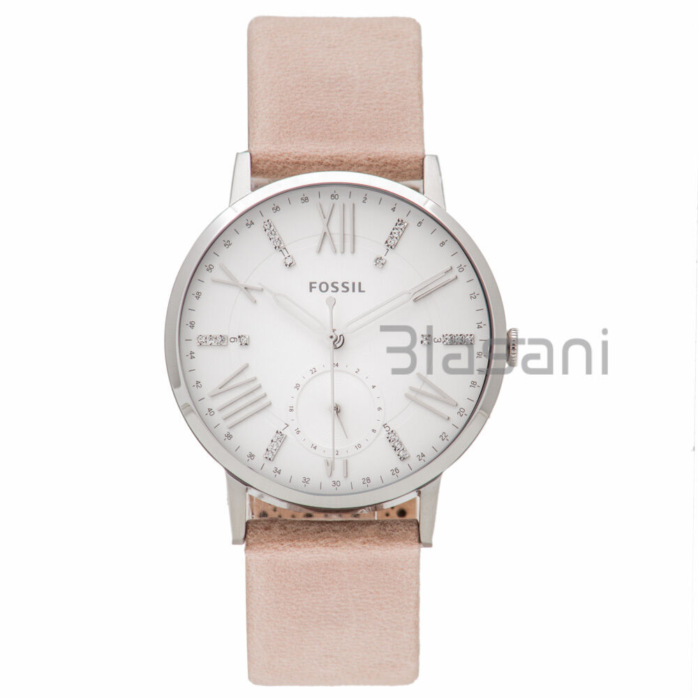 Fossil original es4162 women 39 s gazer multifunction sand leather watch 40mm ebay for Watches 40mm