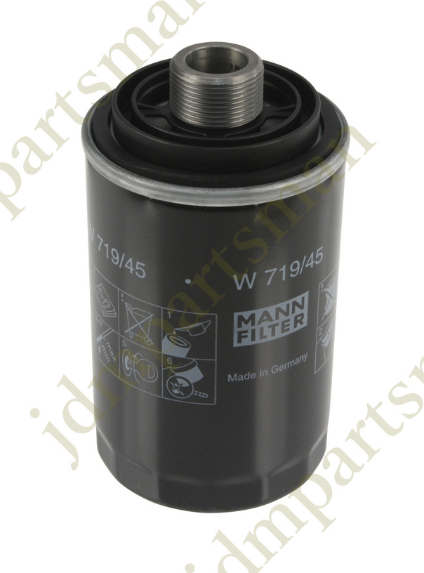 New Oil Filter Spin 45 For Audi A3 A4 Q5 Vw Eos Jetta Beetle