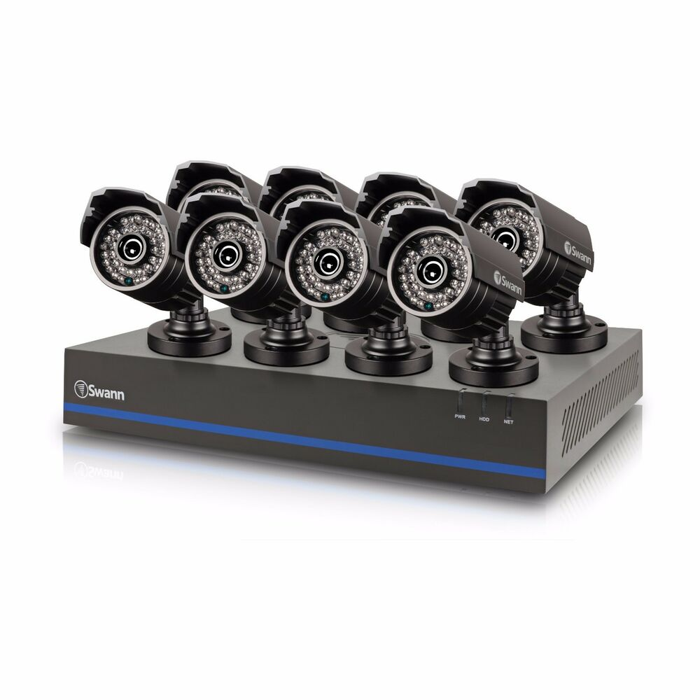 New Swann Swdvk 880758 Cl 8 Channel Hd 1080p Security Dvr