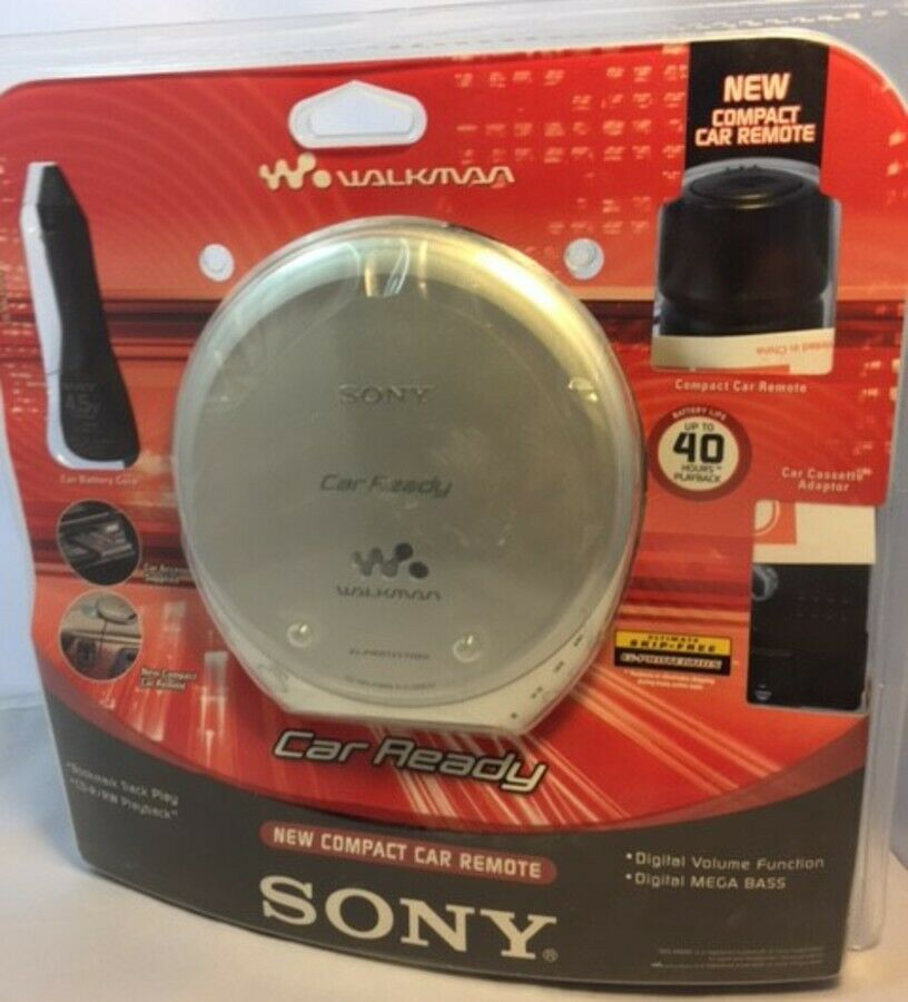 Sony D-EJ368CK CD Walkman Portable CD Player With Car Kit