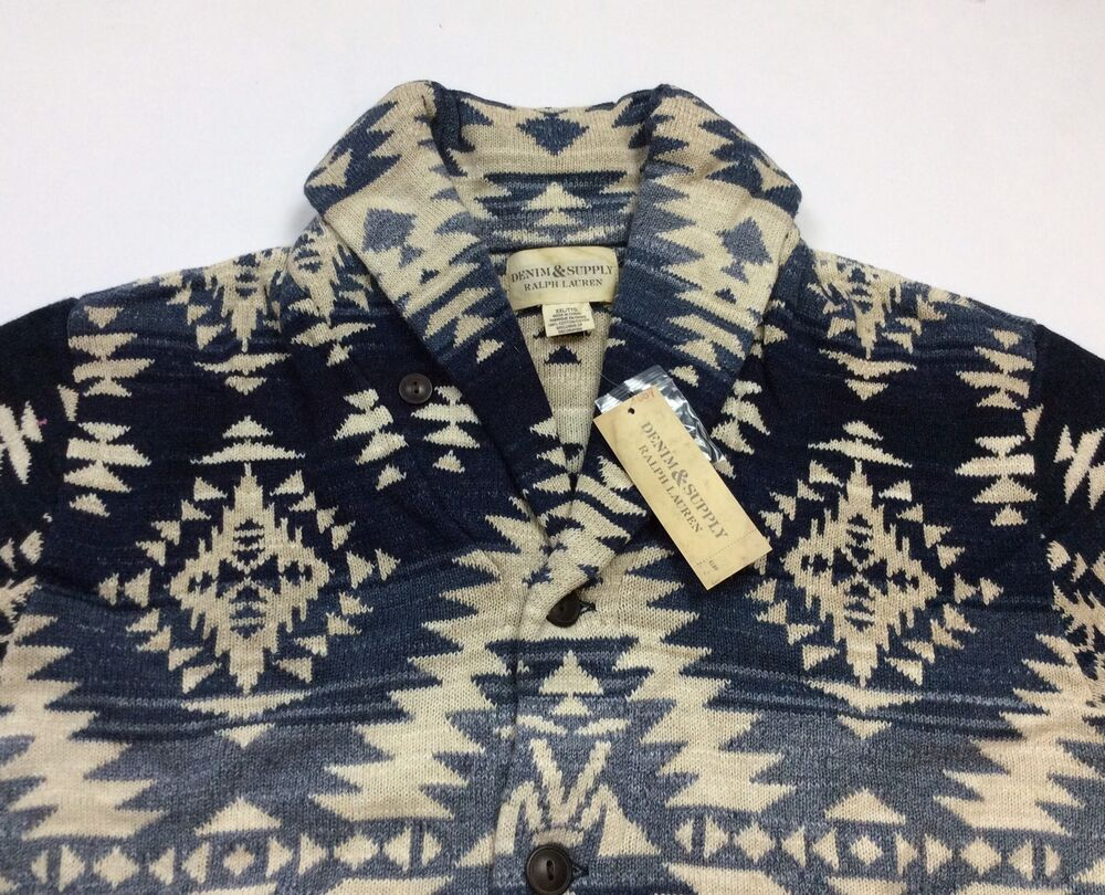 Denim & Supply Ralph Lauren Men Southwestern Indian Aztec ...