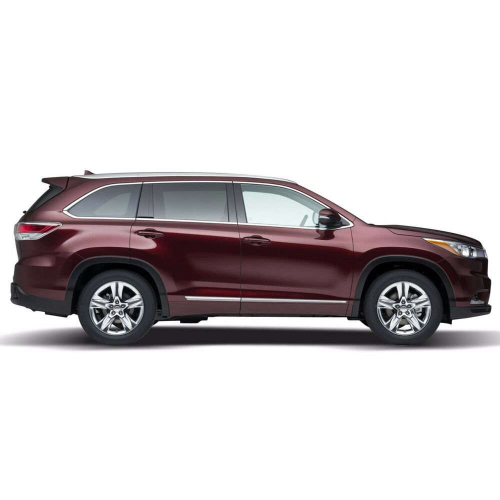 Pictures Of Toyota Highlander: BODY SIDE Moldings LOWER CHROME Trim Mouldings For: TOYOTA