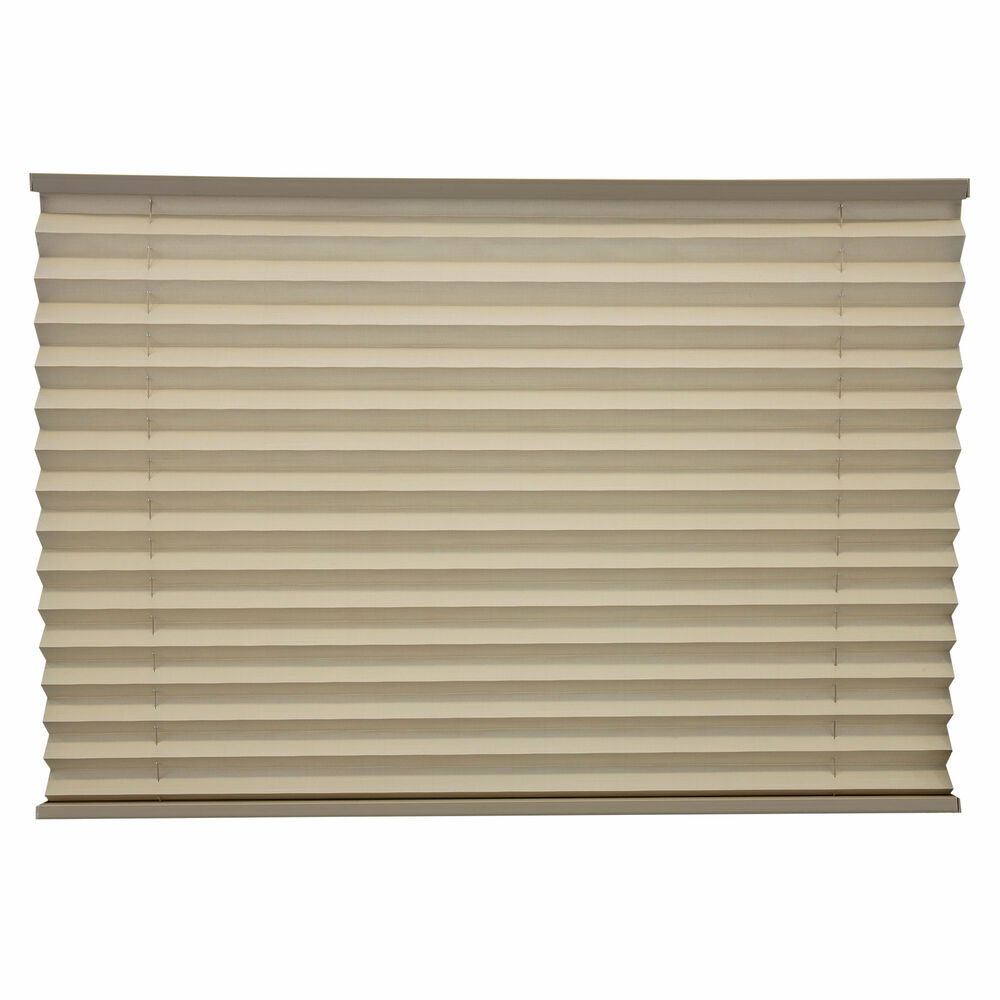 Rv Camper Pleated Blind Shades Cappuccino 26 Quot X 24 Quot Ebay