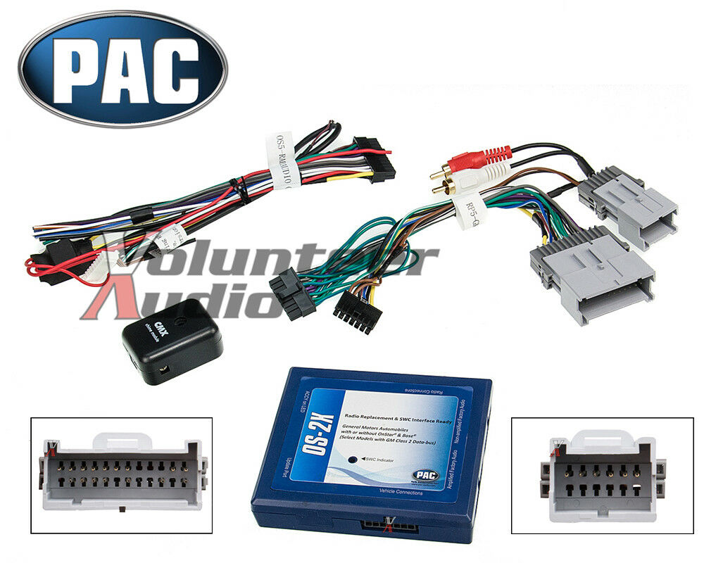 Gm Car Stereo Radio Installation Install Wiring Harness Interface Bose   Onstar 606523108812