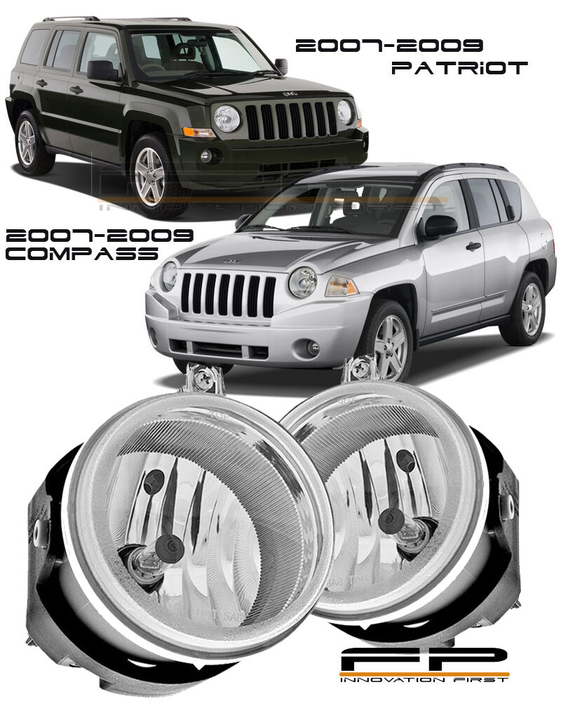 2007-2009 Jeep Compass / Patriot Clear Lens Replacement