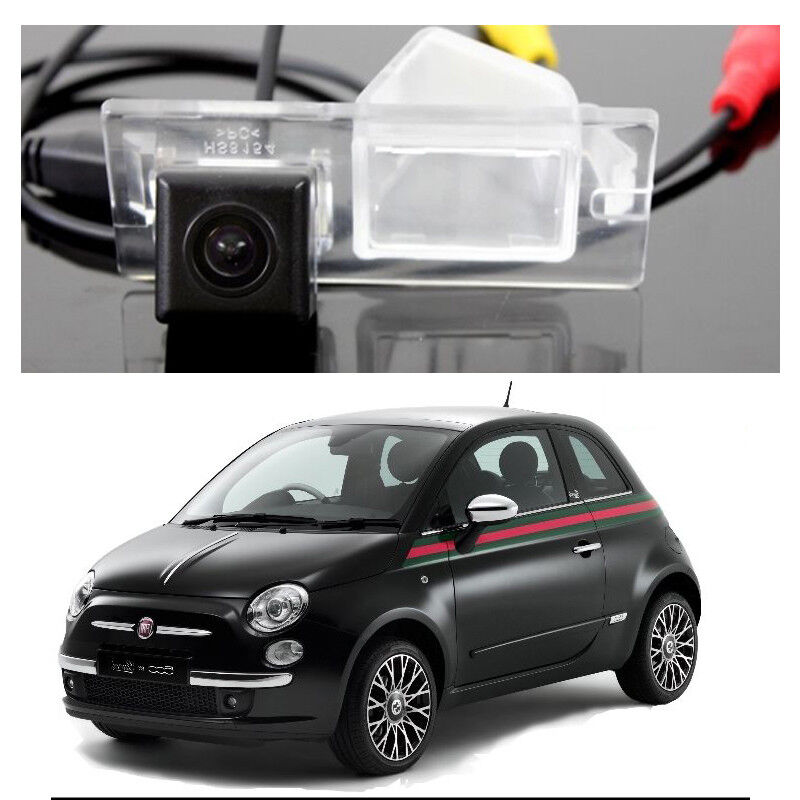 For Fiat 500 500C 500S Abarth 2007~2017 Backup Rear View