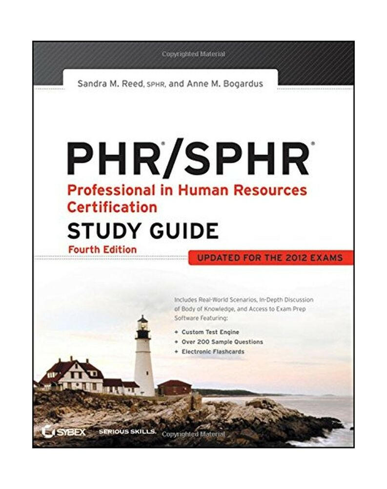 Phr Sphr Professional In Human Resources Certification Study