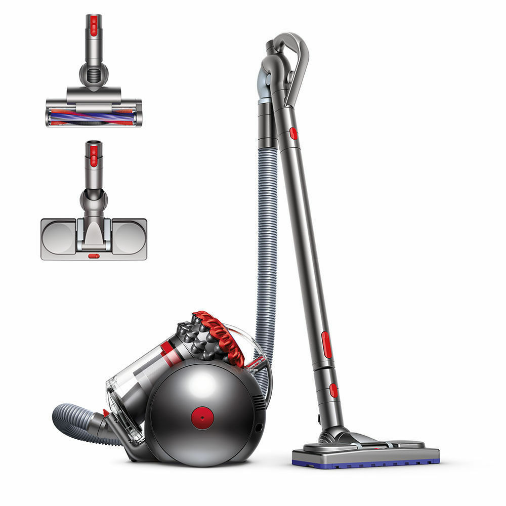 dyson big ball musclehead canister vacuum red new ebay