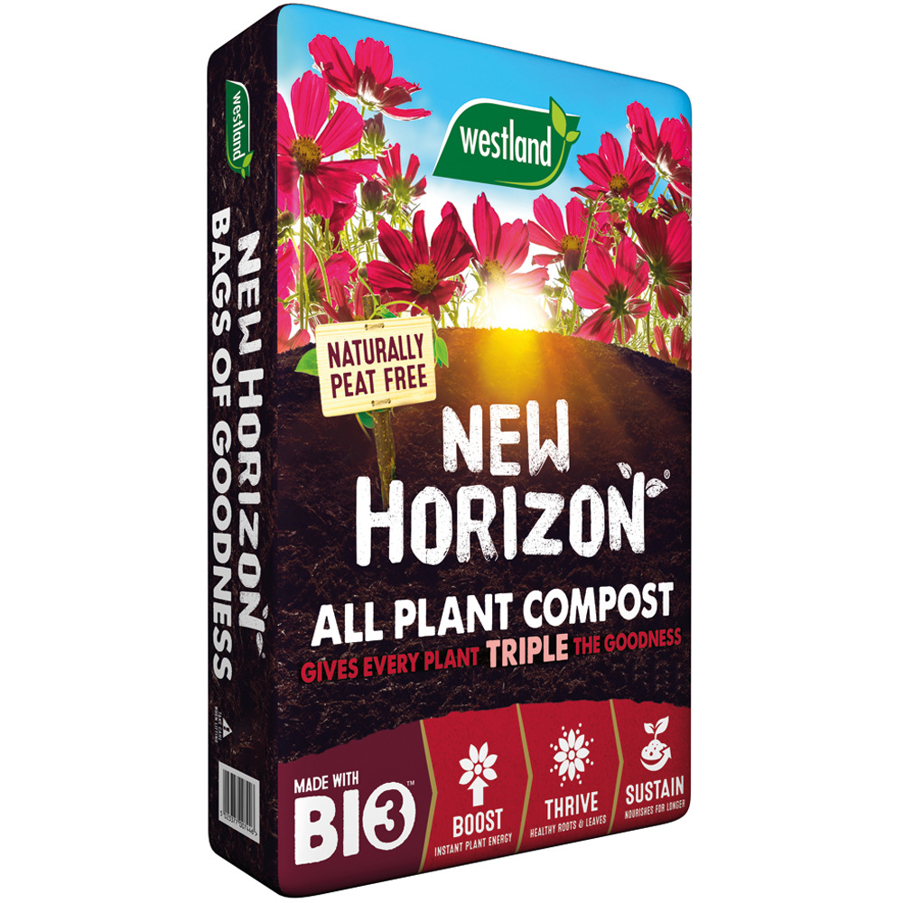 Image for westland multi purpose compost with john innes 50l from - Westland 50l New Horizon Peat Free Compost Multi Purpose Garden Plant Soil Ebay