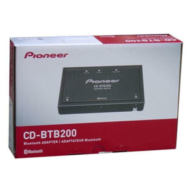 Bluetooth Connection Adapter For Pioneer Car Stereo Ip Bus: Pioneer Bluetooth Wireless Adapter CD-BTB200 CDBTB200