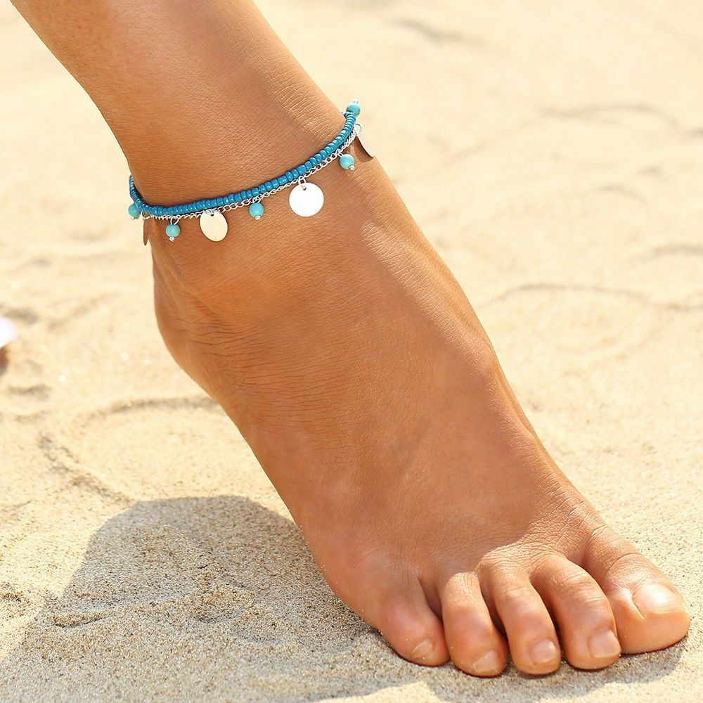 Lady Vintage Boho Beach Barefoot Sandal Foot Anklet Tassel. Real Ankle Bracelets. Box Necklace. Surat Diamond. Yellow Emerald. Scarf Rings. Sand Dollar Necklace. Vvs Necklace. Gold Indian Earrings