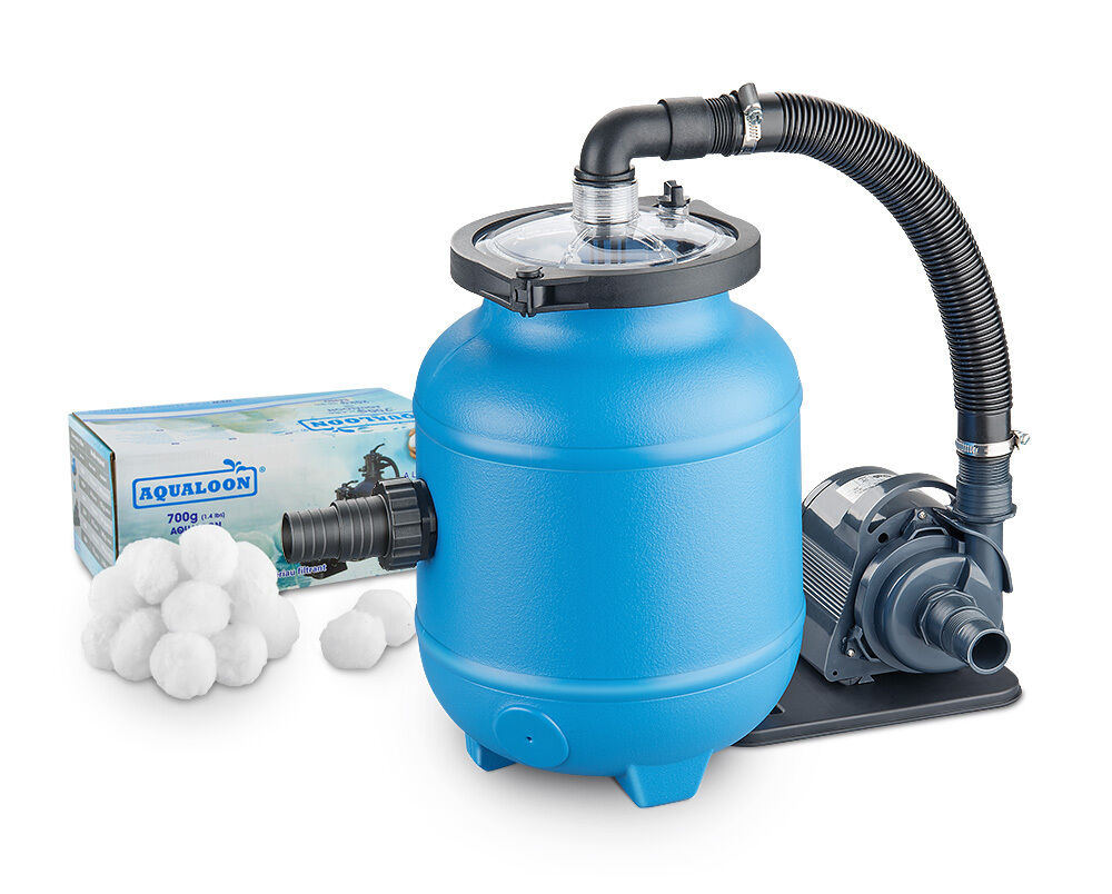 Pool filteranlage loonsana inkl aqualoon poolfilter pumpe - Pool mit filteranlage ...