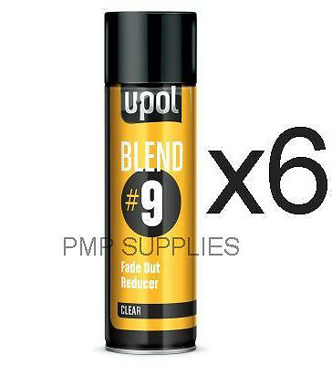 UPOL NEW BLEND#9 Fade Out Solvent CLEAR CASE OF 6 BLEND/AL S2043/AL