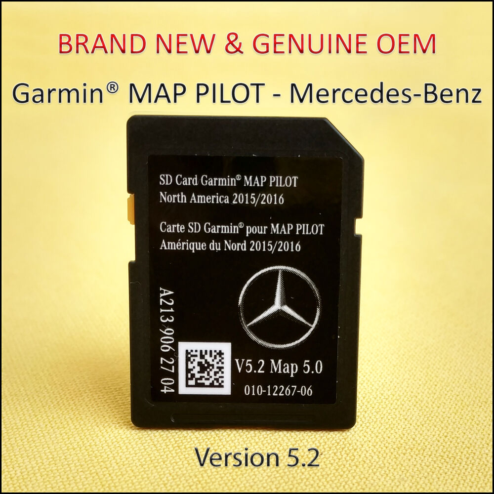 2015 17 mercedes benz sd card gps navigation glc e c class garmin map pilot oem ebay. Black Bedroom Furniture Sets. Home Design Ideas