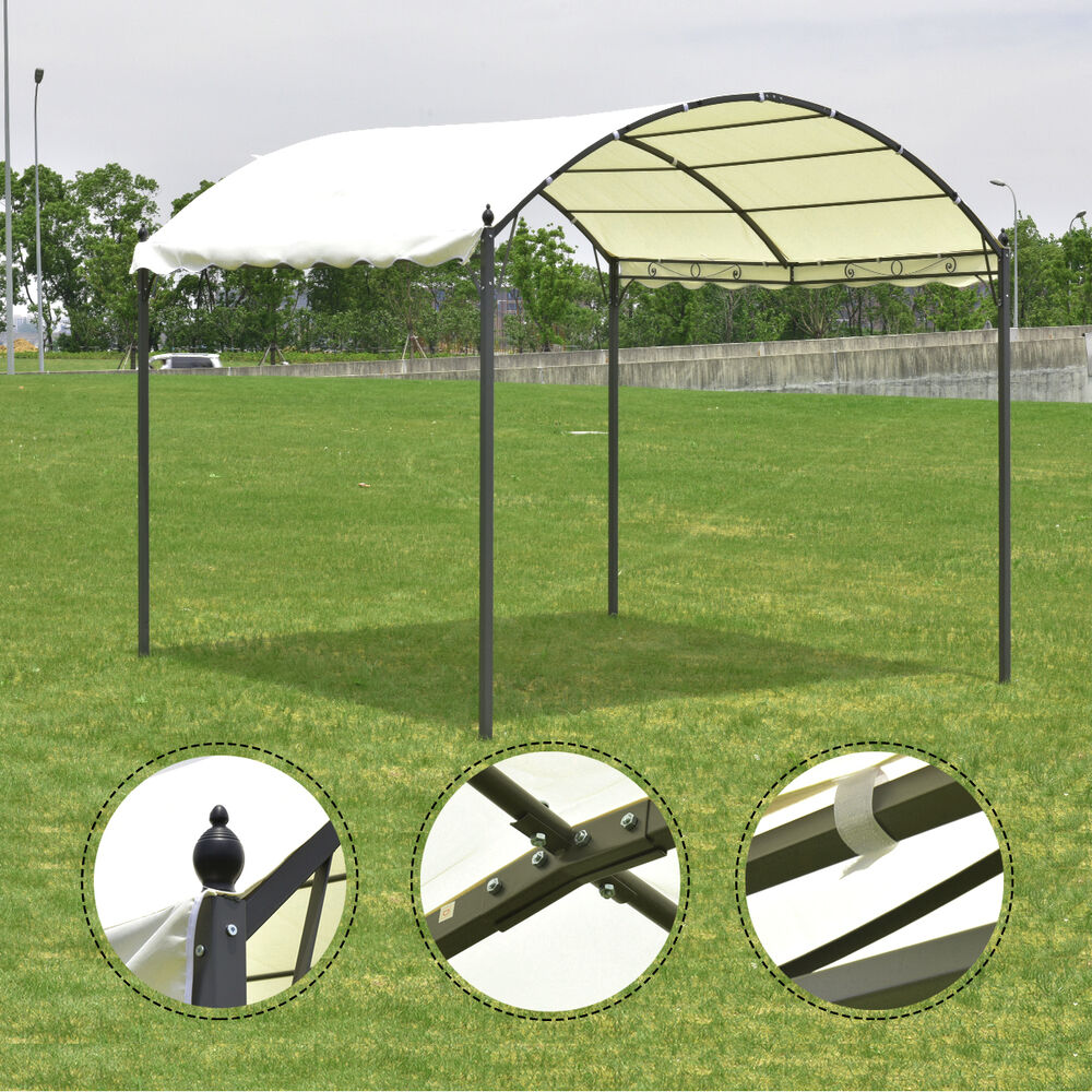 10 X10 Outdoor Canopy Tent Garage Gazebo Shelter Awning
