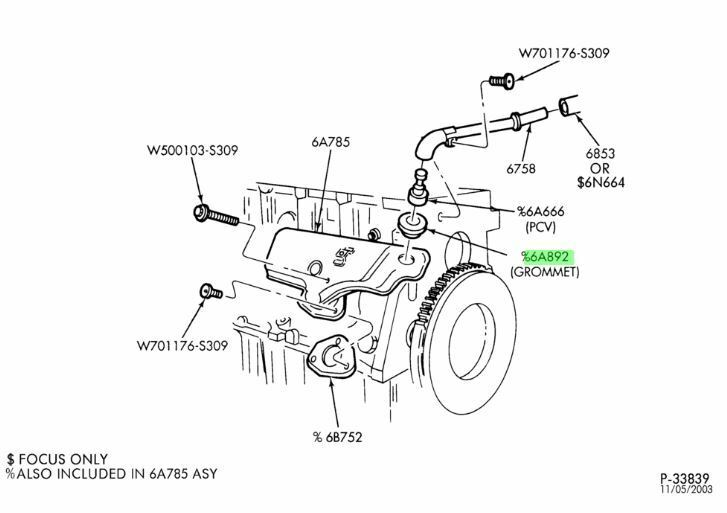 S L on Ford 150 4 6l Engine Diagram