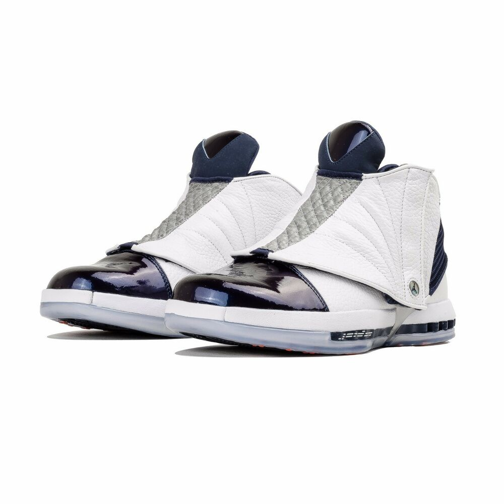 58cccb74ae67 Details about Nike Air Jordan 16 XVI Retro Midnight Navy Size 8.5. 683075- 106