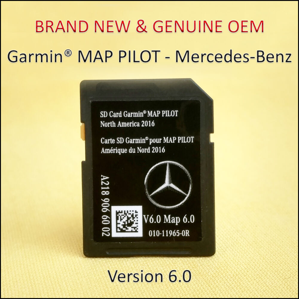 2015 2016 2017 mercedes sd card garmin map pilot north america a218 906 60 02 ebay. Black Bedroom Furniture Sets. Home Design Ideas