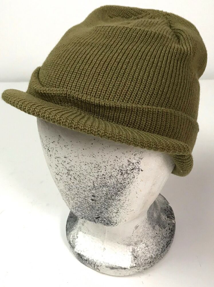 Wwii Us Winter Wool M1941 Jeep Cap Hat Ebay