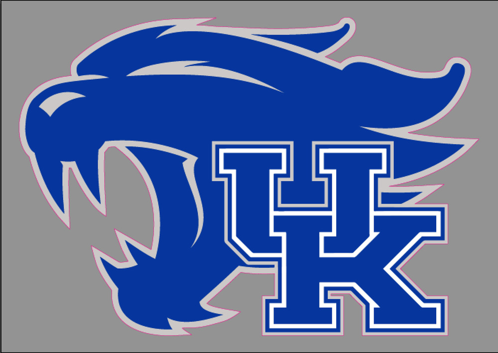 university of kentucky uk wildcats 6 premium vinyl decal. Black Bedroom Furniture Sets. Home Design Ideas