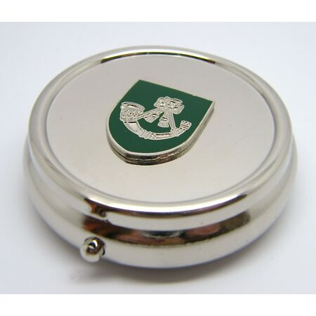 img-THE LIGHT INFANTRY MILITARY ARMY BADGE PILL BOX TABLET CHOICE SQUARE ROUND