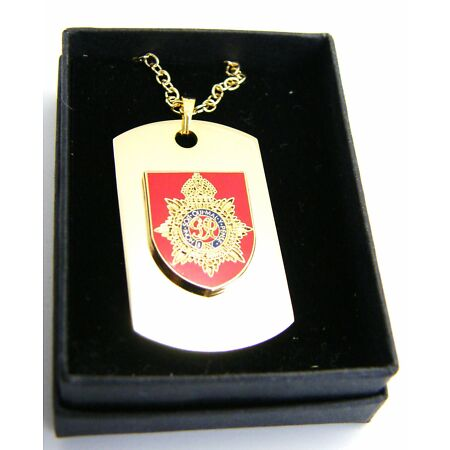 img-THE ROYAL ARMY SERVICE CORPS BADGE DOG TAG PENDANT MILITARY GIFT IN BOX