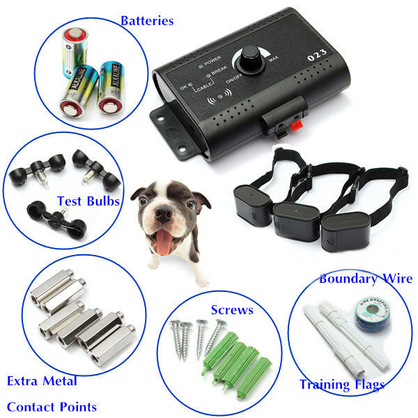 Dog Fence System With Electric Shock Collar