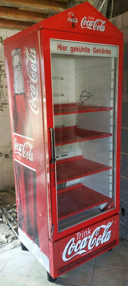coca cola k hlschrank glast r flaschenk hlung gastronomie k hlschrank ebay. Black Bedroom Furniture Sets. Home Design Ideas