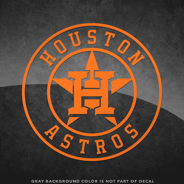 Houston Astros Logo Vinyl Decal Sticker 4 Quot And Larger