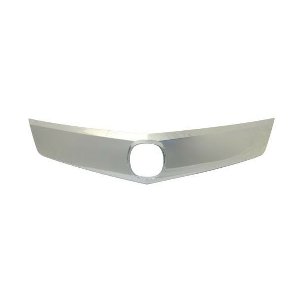 10-12 RDX Front Grille Trim Grill Molding Satin Nickel