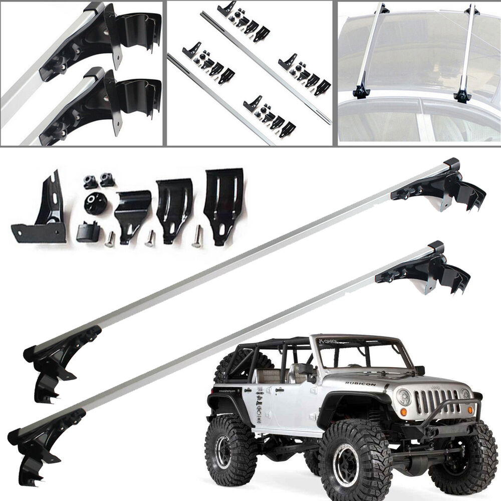 For Jeep Wrangler 47 Quot Inch Car Top Luggage Cross Bar Roof